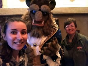 Meet the Beast after dinner at Be Our Guest