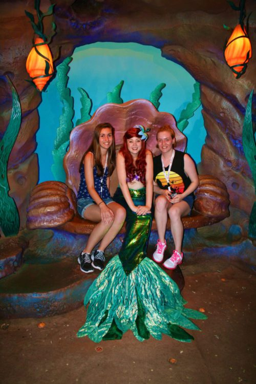 Meeting The Little Mermaid at her Grotto