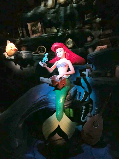 The Little Mermaid Under the Sea Ride